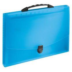 Teczka harmonijkowa Esselte Vivida z rączką, niebieska 624022
