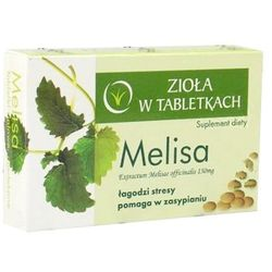COLFARM 30 tabletek Melisa Zioła w tabletkach