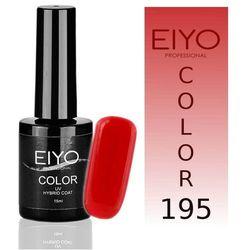 Lakier hybrydowy EIYO Elegance - kolor nr 195 - Żywa Czerwień - 15 ml Lakiery hybrydowe