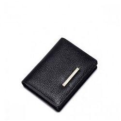 Niewielki damski portfel Czarny - Nucelle