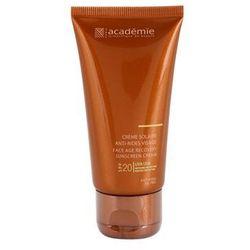 Academie Bronzécran krem do opalania przeciw starzeniu skóry SPF 20 + do każdego zamówienia upominek.