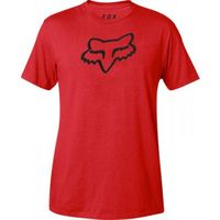 FOX T-SHIRT LEGACY FOX HEAD DARK RED