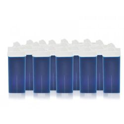 DEPILUX 24 SZT. WOSK DO TWARZY ROLKA BLUE AZULEN 100 ML