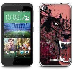 Fantastic Case - HTC Desire 320 - etui - wilkołak