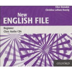 New English File beginner Class audio Cd`s