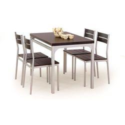 Zestaw HALMAR MALCOLM stół + 4 krzesła