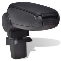 Czarny podłokietnik do samochodu Suzuki SX4 (po 2007 r.) Zapisz się do naszego Newslettera i odbierz voucher 20 PLN na zakupy w VidaXL!