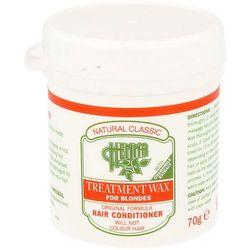 Natural Classic Wax Henna Treatment - Odżywka do włosów blond 70 g