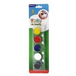 Farby do malowania twarzy 5 kolorów MF-5