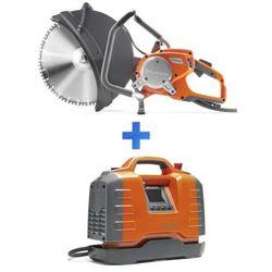 Przecinarka ręczna elektryczna Husqvarna K 6500 + agregat PP 65