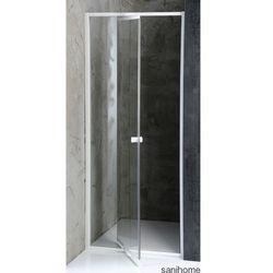 AMICO drzwi prysznicowe do wnęki 104-122 cm G100