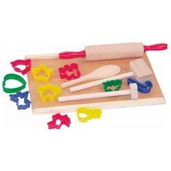 Woodyland, Zabawka drewniana, Zestaw drewnianych naczyń Darmowa dostawa do sklepów SMYK