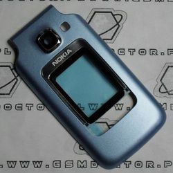 Obudowa Nokia 6290 przednia niebieska