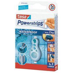 Plastry wodoodporne duże, TESA Powerstrips 59700 59700