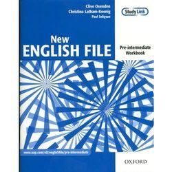 New English File Pre-Intermediate Workbook + CD (opr. broszurowa)