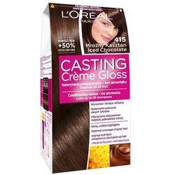 LOREAL Paris Casting Creme Gloss 415 Mroźny kasztan Farba do włosów