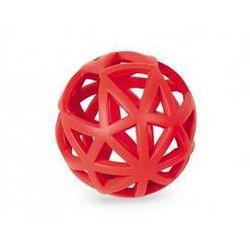 Zabawka dla zwierząt Nobby Ruber Line piłeczka 12,5cm Czerwona