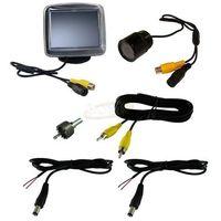 Zestaw cofania do samochodu - kamera cofania + monitor LCD 3,5