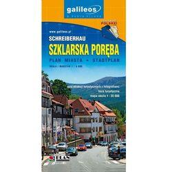 Szklarska Poręba 1:9 000 / Karkonosze, część zachodnia. Plan miasta / Mapa turystyczna. Wyd. 2014. Galileos