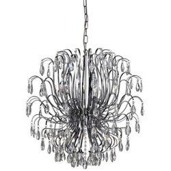 Żyrandol LAMPA wisząca SKARHULT 104874 Markslojd kryształowa OPRAWA ZWIS crystal chrom przezroczysty