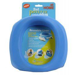 Silikonowy wielorazowy wkład na nocnik Potette Plus niebieski