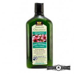 Szampon do podrażnionej skóry głowy z olejkiem z drzewa herbacianego - Avalon Organics