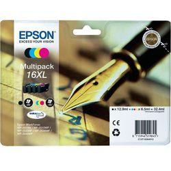 Epson oryginalny ink C13T16364010, T163640, 16XL, CMYK, 3x6.5/12.9ml, Epson WorkForce WF-2540WF, WF-2530WF, WF-2520NF, WF-2010