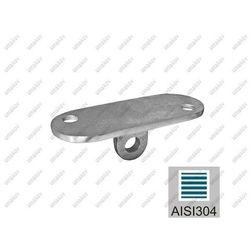 Nierdzewna blaszka montażowa profila AISI304, 40x4