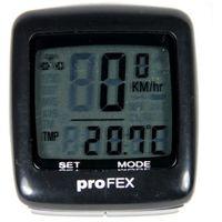Licznik rowerowy PROFEX 21 Funkcji Czarny