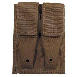 Ładownica MFH 9mm/40 (2 Rzędowa podwójna) MOLLE Zamkn Coyote (30617R)