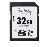 PETER HADLEY 32 GB SDHC HIGH SPEED 100MB/s C10, UHS-I, V10