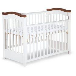 Klupś, łóżeczko niemowlęce Rafał z opuszczanym bokiem + gryzaki Darmowa dostawa do sklepów SMYK