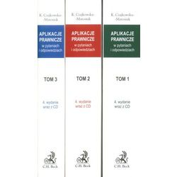 Aplikacje prawnicze w pytaniach i odpowiedziach. Tom 1-3. + CD. Wydanie 4. (opr. miękka)