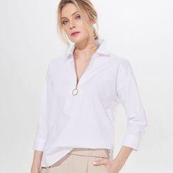 Długa koszula z wiskozy, MOHITO, YO980 00X