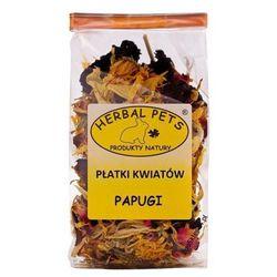 Herbal Pets płatki kwiatów dla papugi 30g
