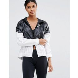 Nike Hooded Windbreaker Jacket - Black