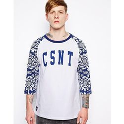 The Cuckoos Nest Raglan Long Sleeve T-Shirt - White