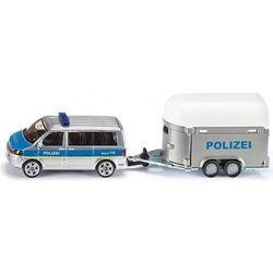 Zabawka SIKU 2310 Samochód Policyjny z Przyczepą Dla Koni