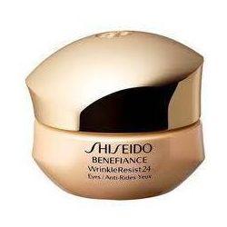 Shiseido Benefiance Wrinkle Resist 24 Przeciwzmarszczkowy krem pod oczy 15ml