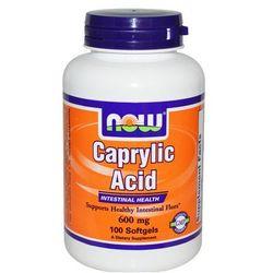Kwas kaprylowy 600 mg - 100 Softgels