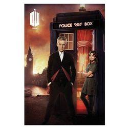 Doctor Who Budka Telefoniczna i Płonący Londyn - plakat