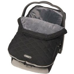 Śpiworek do fotelika i wózka Urban Stealth (0-12 mcy) - czarny