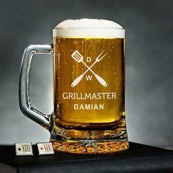GrillMaster - Personalizowany Kufel - Kufel do piwa