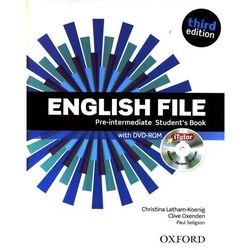 English File Pre-intermediate - Student`s Book (+CD) (opr. miękka)