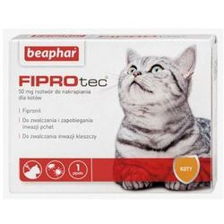 Beaphar FIPROtec 50mg dla kotów / fipronil