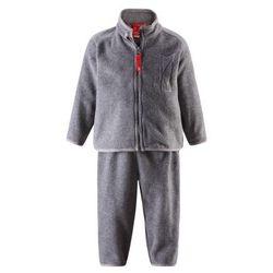 Komplet polarowy dwuczęściowy Reima ETMIN bluza/spodnie szary