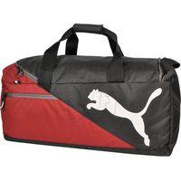 Torba Puma Fundamentals Sports Bag M 07339504 czarno-czerwona