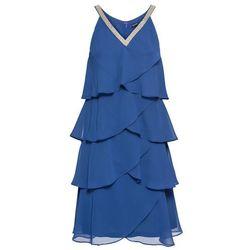 2f2d55f3b4 suknie sukienki sukienka z dwoma falbanami black (od Sukienka ...