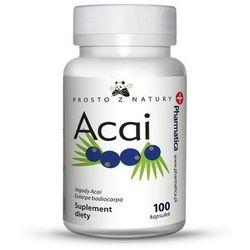 Jagody ACAI Berry 500 mg / 100 kaps na odchudzanie