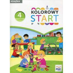 Kolorowy Start Czterolatek Książka